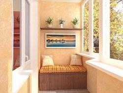 Внутренняя отделка балконов и лоджий в Яровое