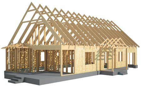 Каркасные дома в Яровое. Здания на основе деревянного каркаса